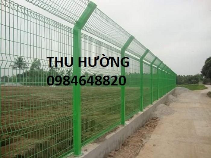 Chuyên sản xuất lưới thép hàn mạ kẽm nhúng nóng phi 4 ô 50x50 làm hàng rào, vách ngăn, rẻ nhất toàn quốc