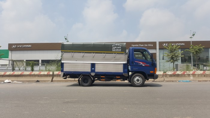 Bán xe 2,5 tấn Hyundai New Mighty n250 thùng mui phủ bạt giao ngay 6