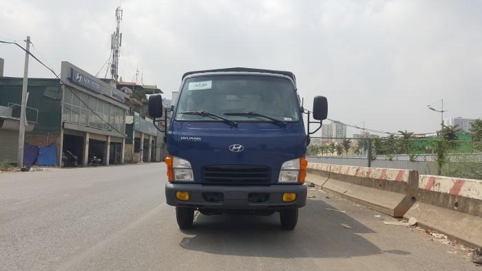 Bán xe 2,5 tấn Hyundai New Mighty n250 thùng mui phủ bạt giao ngay 5