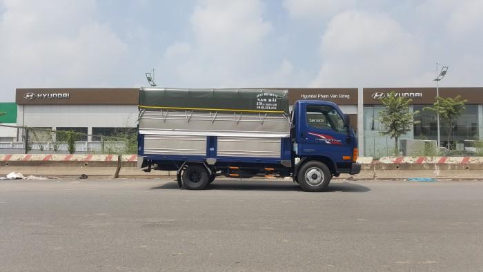 Bán xe 2,5 tấn Hyundai New Mighty n250 thùng mui phủ bạt giao ngay 4
