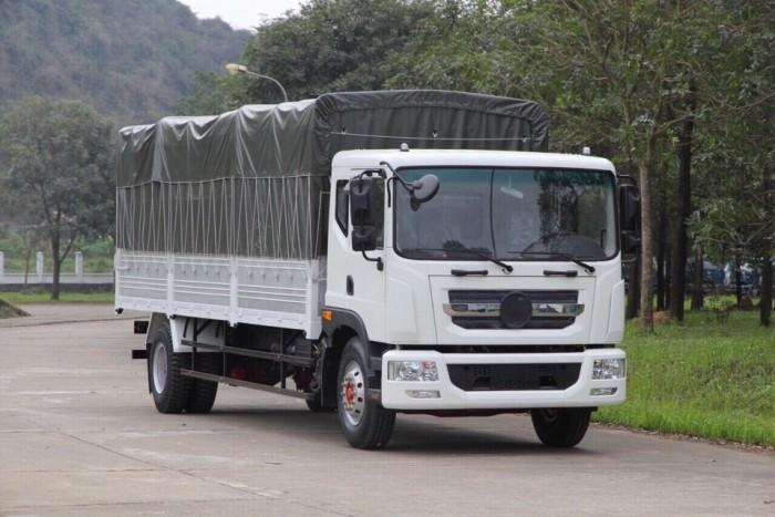 Xe tải 9 tấn 3 máy cummin my đời 2018 thùng dài 7m6