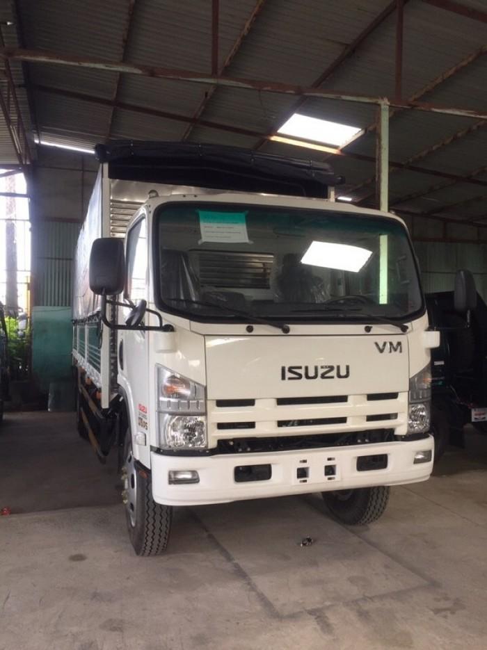 Xe tải Isuzu vĩnh phát VM 8.2 tấn ,VM 8 tấn 2 thùng 7m mui bạt .