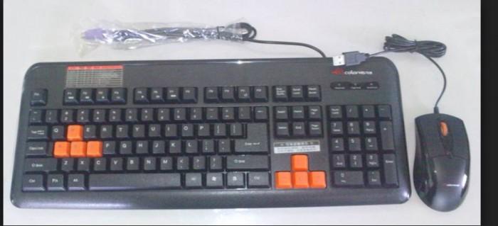 Combo Bàn phím Chuột Colorvis C88 chính hãng (Ps2 và Usb)1