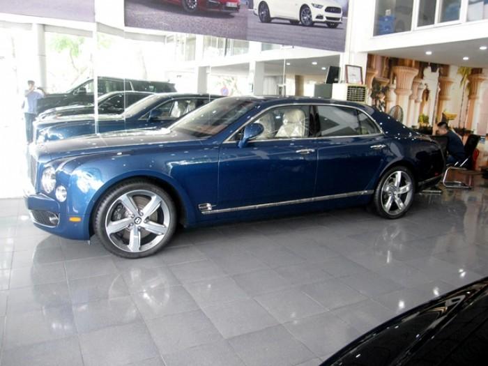 Bentley Mulsanne sản xuất năm 2016 Số tự động Động cơ Xăng