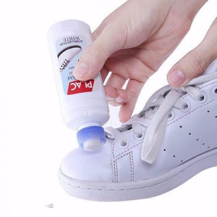Chai Lăn Vệ Sinh Giày Túi Plac Cream Đánh Bay Mọi Vệt Ố Vàng4