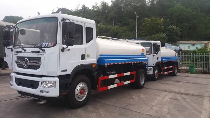 Xe phun nước rửa đường Dongfeng 9 khối 7