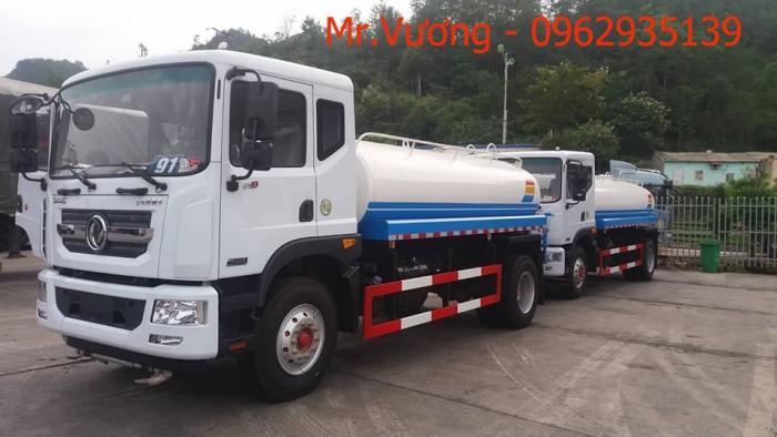 Xe phun nước rửa đường Dongfeng 9 khối 3
