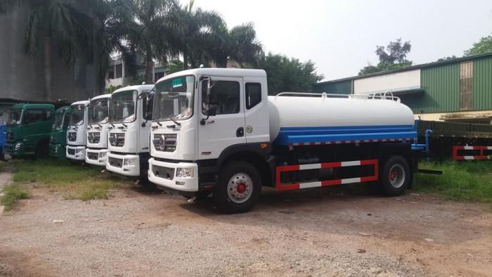 Xe phun nước rửa đường Dongfeng 9 khối 4