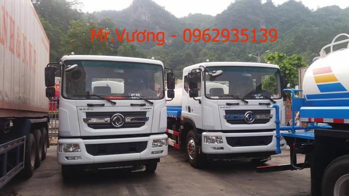 Xe phun nước rửa đường Dongfeng 9 khối 6