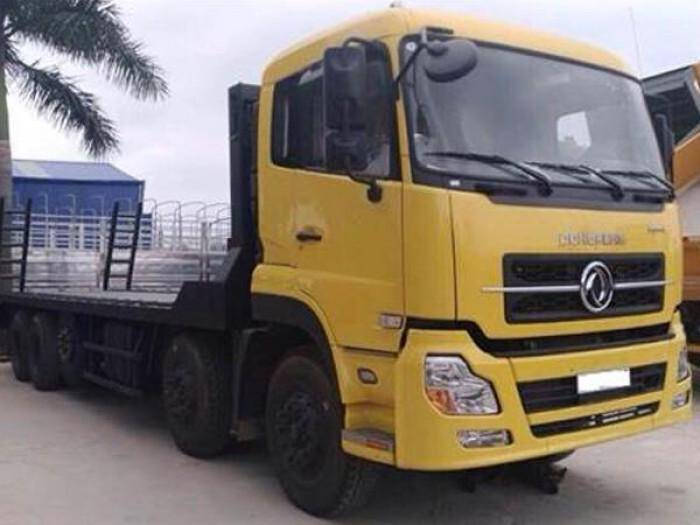 Xe nâng đầu chở máy công trình Dongfeng 17 tấn