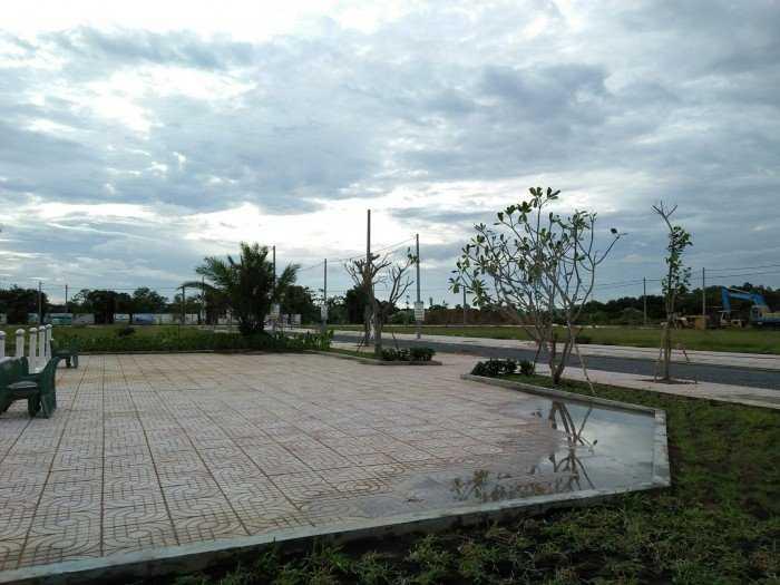 Đất chợ Gò Đen mặt tiền Tỉnh Lộ 835 Phước Lợi 124m2 SHR
