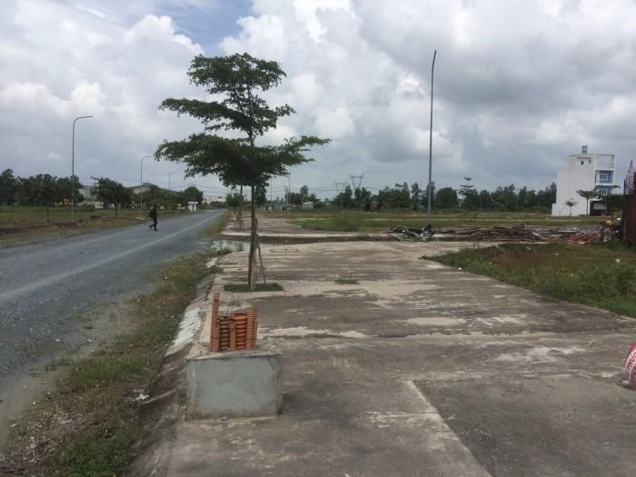 Đất MT đường TL10-Bình Chánh, SHR, 80m2, XDTD