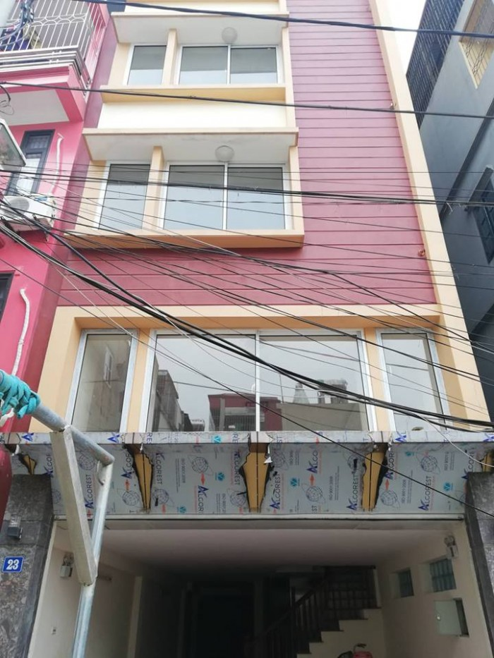 Cho thuê mặt phố Nguyễn Thái Học 190 m x 9 tầng, mặt tiền 11m.