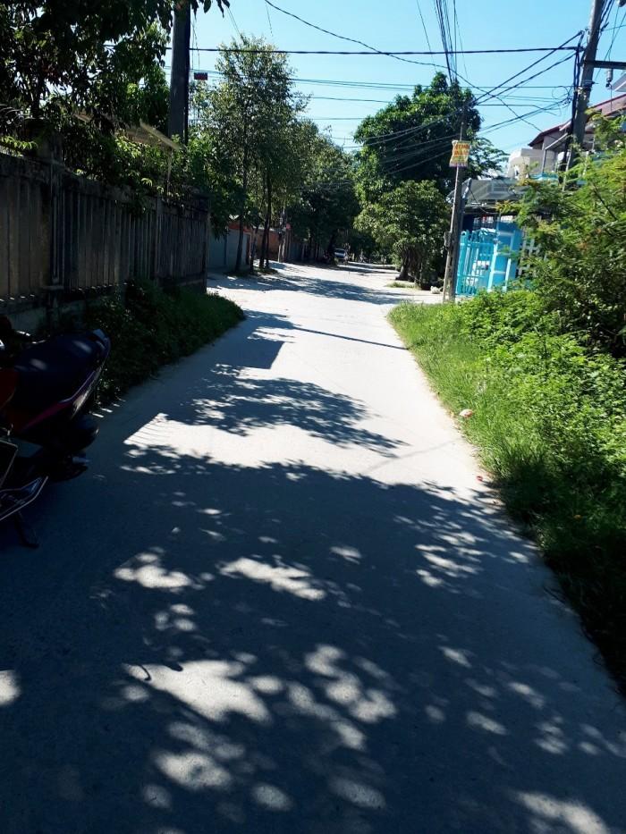 Bán lô đất nở hậu đẹp Lại Thế - Phú Thượng - Phus Vang, dt104m2, hướng Tây Bắc