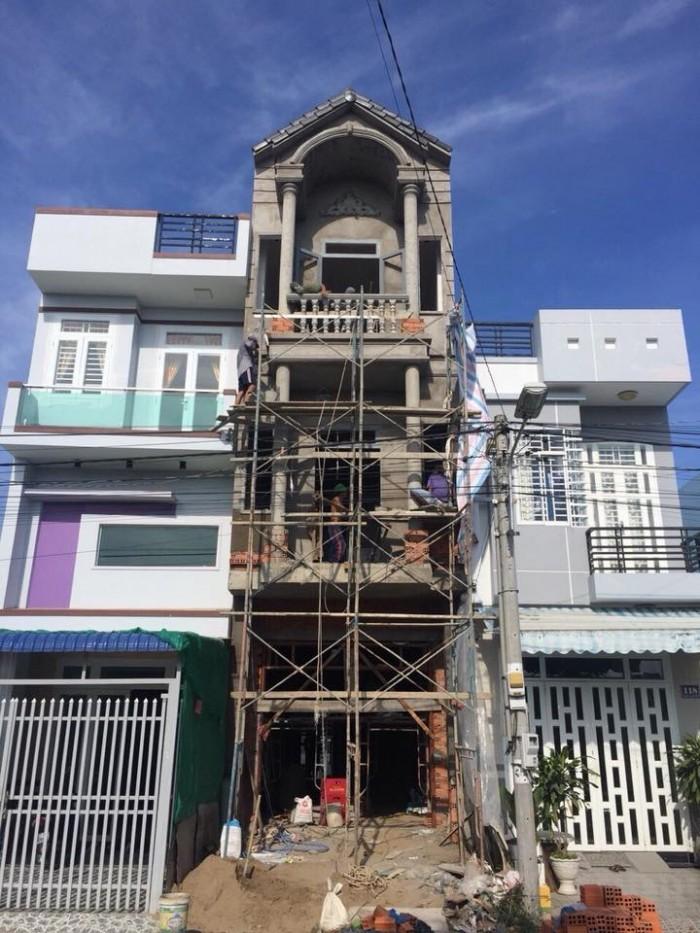 Nhà 2 mặt tiền đường 12 và 12A KDC Cồn Khương, P Cái Khế, Q Ninh Kiều