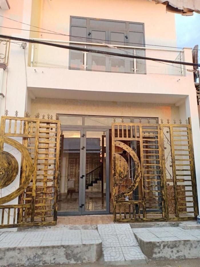 Bán Nhà Mới 1 Trệt 1 Lầu Khu Dân Cư 7-13 Đường Nguyễn Văn Linh
