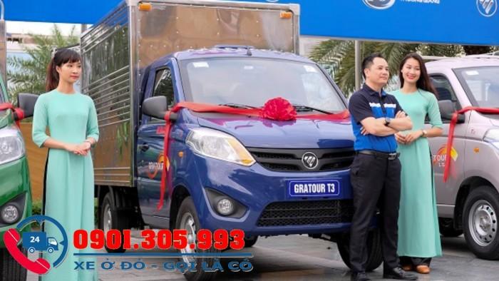 Xe tải nhỏ foton 900 kg thùng kín inox, foton T3 nhập khẩu