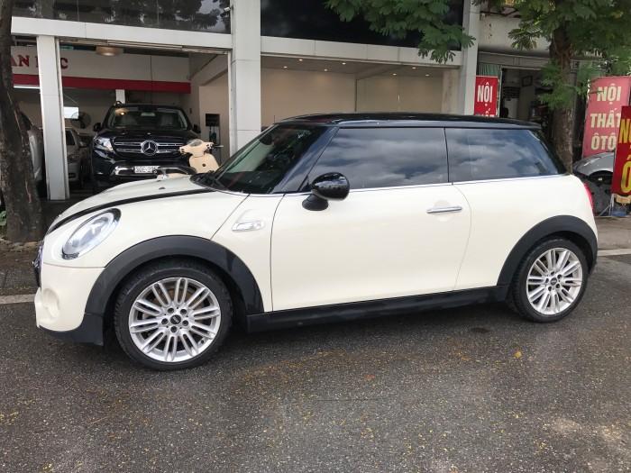 Mini Cooper S 2016 màu trắng