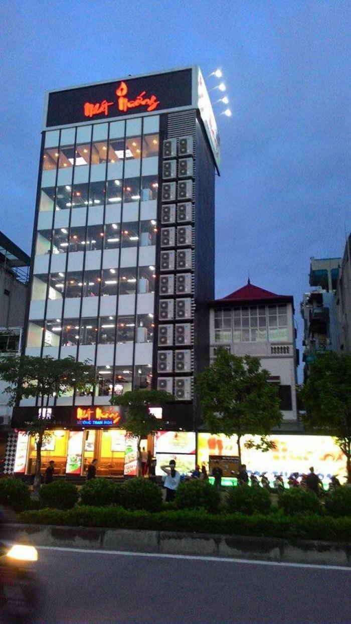 Bán nhà mặt phố Trần Vỹ 55m2 x 4 tầng, lô góc mặt tiền khủng