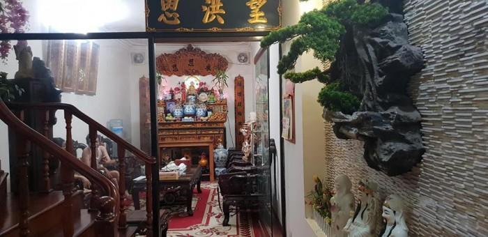 Nhà ngõ Nguyễn Thị Định  56mX5t, MT3,5m