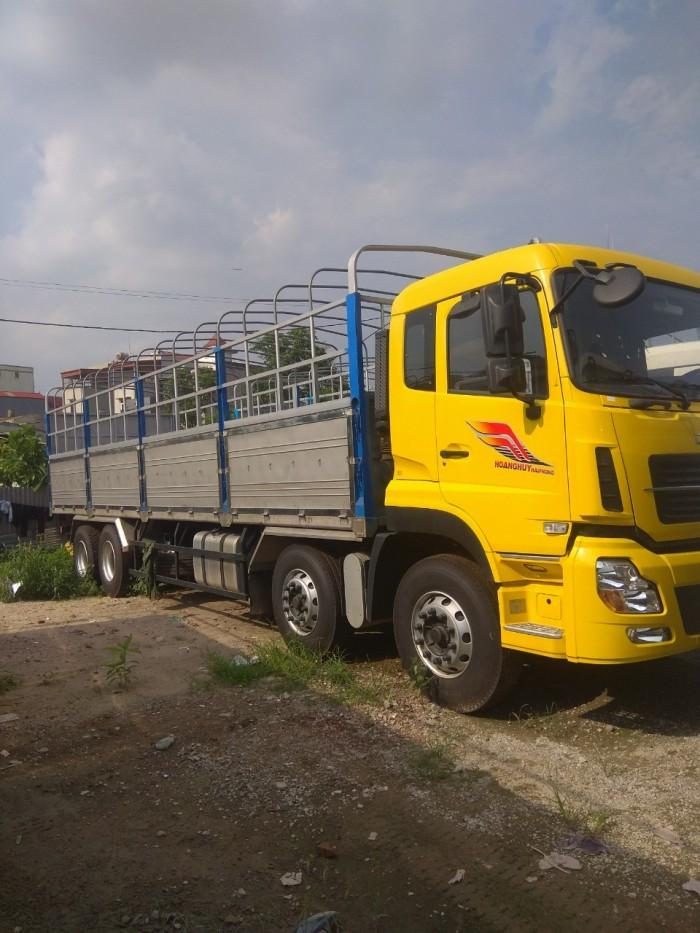 Bán tải thùng 4 chân Dongfeng Hoàng Huy 2017 Mới, Màu vàng 3