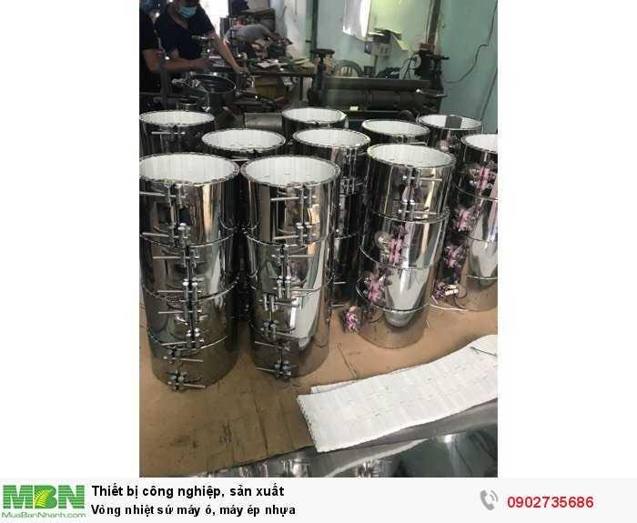 Vòng nhiệt sứ máy ó, máy ép nhựa2