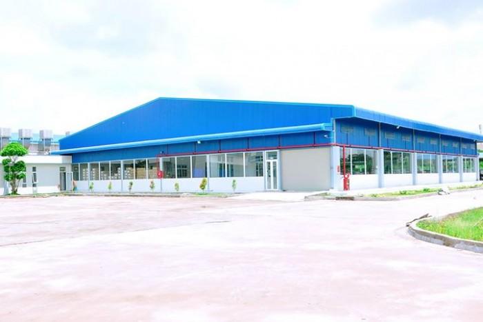 Cho thuê xưởng khu công nghiệp Đồng Văn 2, Duy Tiên Hà Nam 2595m2 khuôn viên 5000m2