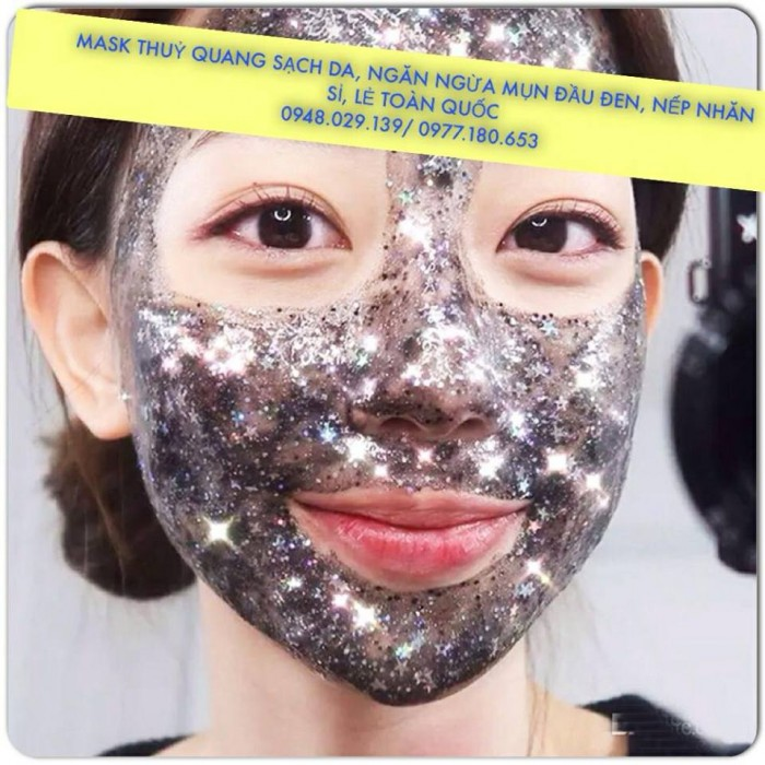 Mask thủy quang trắng da, ngăn ngừa mụn đầu đen4