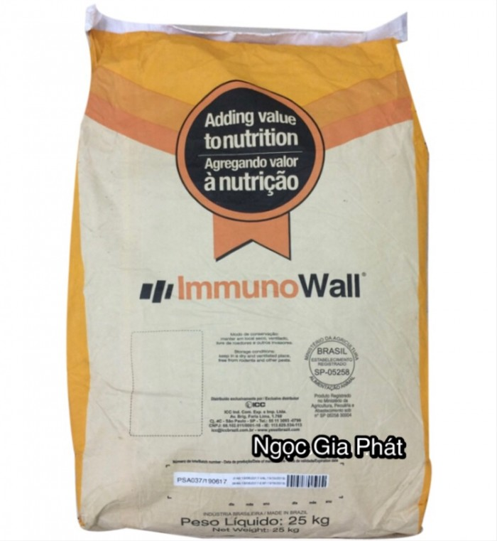 Immunowall, betaglucan, mannan oligosaccharide (MOS), bảo vệ đường ruột, tăng miễn dịch, hỗ trợ gan1