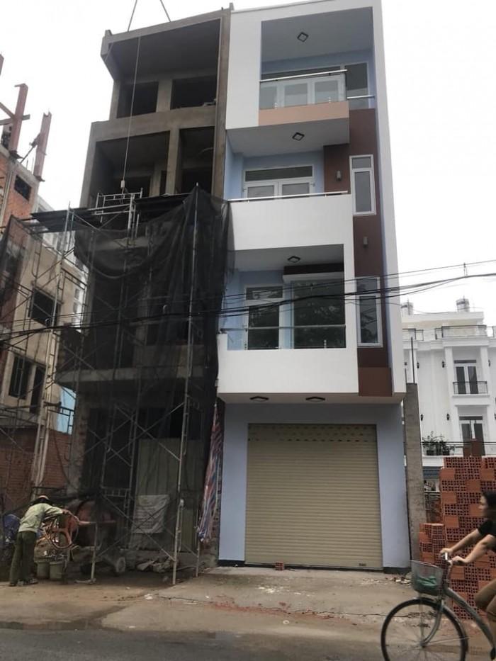 Bán nhà MT đường Lê Sát, P. Tân Qúy, 4x16m, 3 tấm
