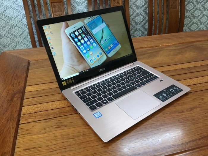 Acer Swift SF314 Core i3 7130u Ram 4 SSD 256 1.6Kg7