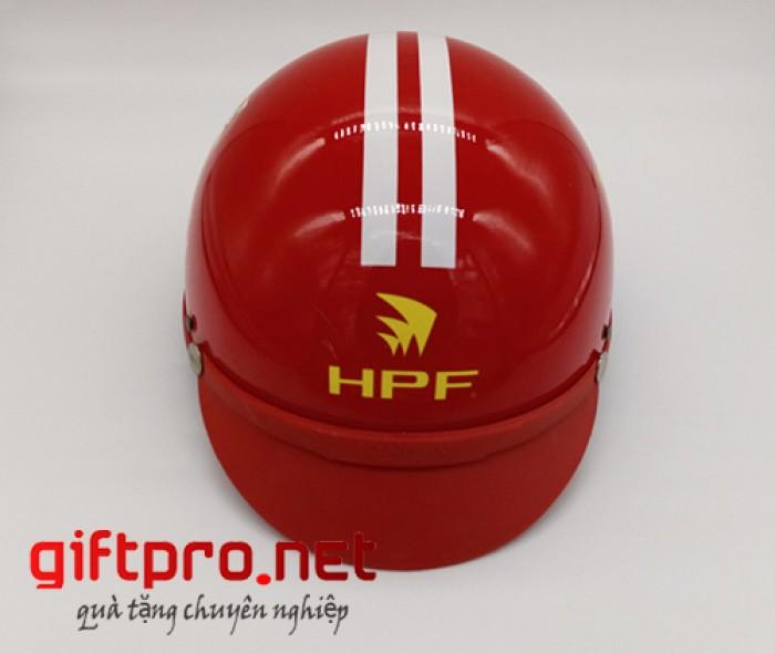 Tư vấn, thiết kế, sản xuất, in logo thương hiệu lên mũ bảo hiểm