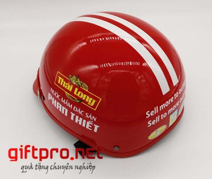 Đơn vị chuyên sản xuất và in ấn theo yêu cầu các loại Mũ bảo hiểm quảng cáo thương hiệu tại Tân Phú HCM