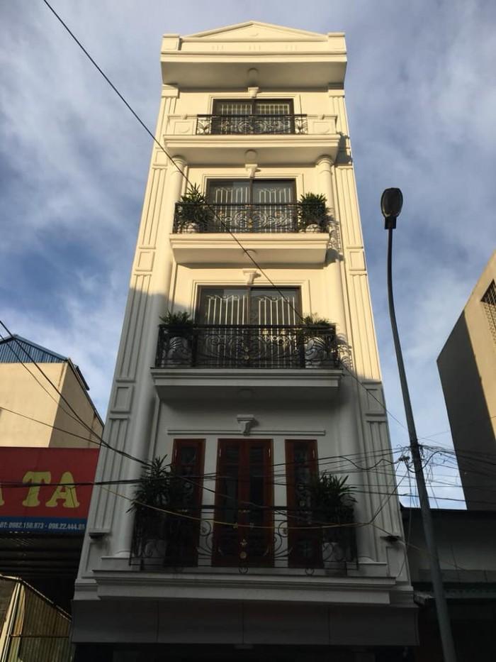 Bán nhà phố Nguyễn Trãi, Thanh Xuân, nhà mới 55m x 5 tầng, mặt tiền 4.5m,