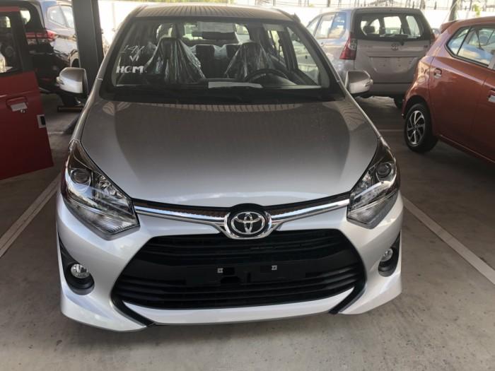 Toyota wigo 1.2 số sàn màu bạc 4