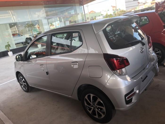Toyota wigo 1.2 số sàn màu bạc 1