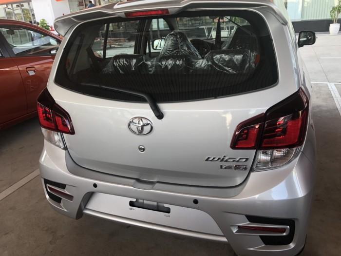Toyota wigo 1.2 số sàn màu bạc 0