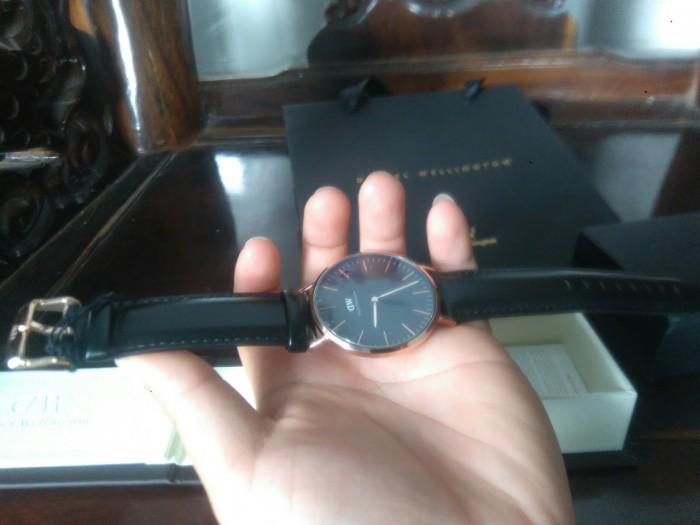 Đồng hồ DW classic black chính hãng1