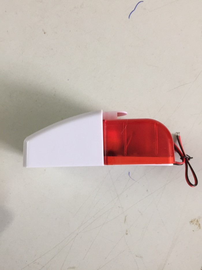 Loa báo động có điều chỉnh âm lượng, kiêm đèn báo hiệu1