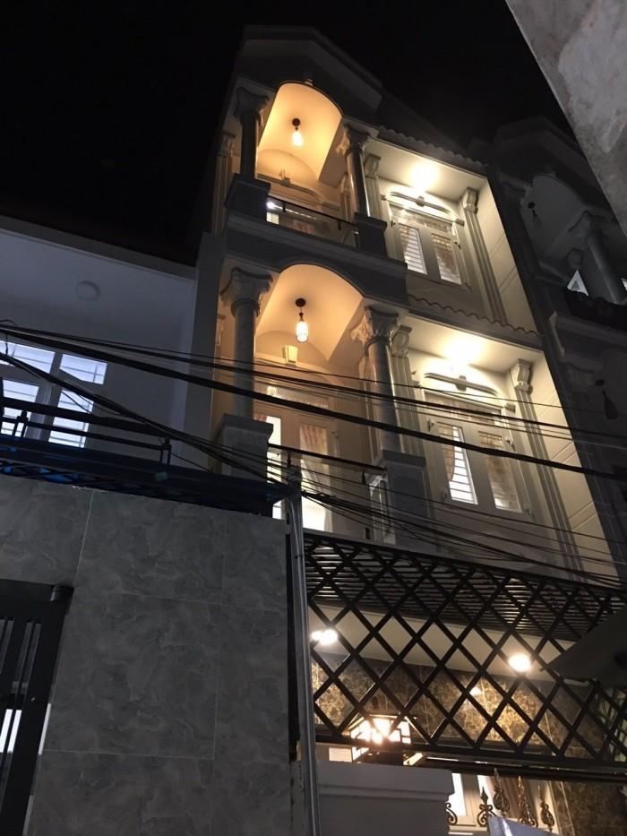 Bán nhà hẻm xe hơi 2174 Huỳnh Tấn Phát, Nhà Bè, Nhà mới, đầy đủ tiện nghi, DT 44m2, 2 lầu 4PN