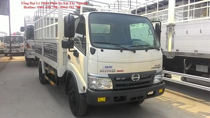 Xe tải Hino 3,5 tấn thùng dài 5,7m nhập khẩu nguyên chiếc