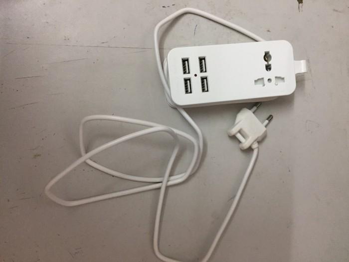 Ổ cắm sạc USB 4 cổng tiện dụng1
