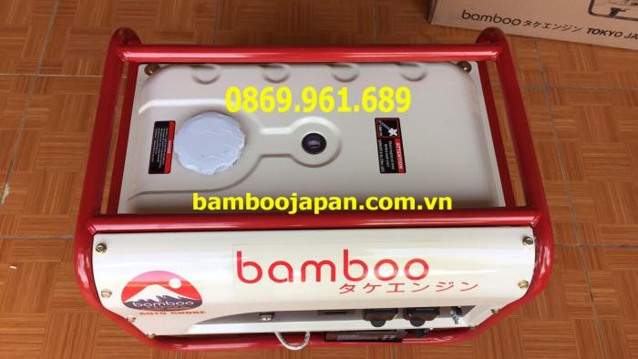 Máy Phát Điện Bamboo 3800 C (2,8Kw; Xăng; Giật Tay)1