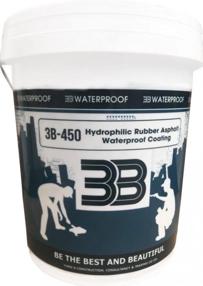 Dung dịch chống thấm hắc ín gốc bitum 3B-450 giá rẽ0