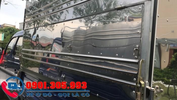 Xe tải nhỏ 700kg 5 chổ chuyên chạy phục vụ công trường, nội thành