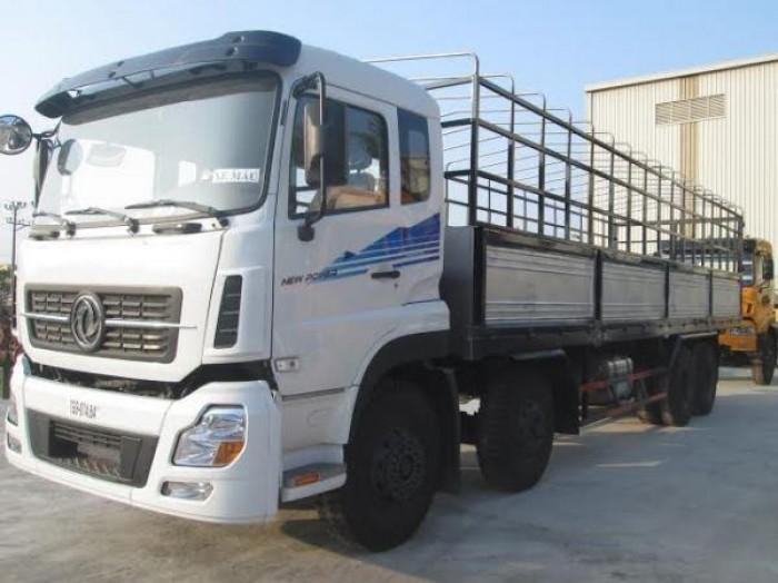 Xe tải Dongfeng 4 chân 19 tấn 1 thùng dài tải cao giá rẻ 5