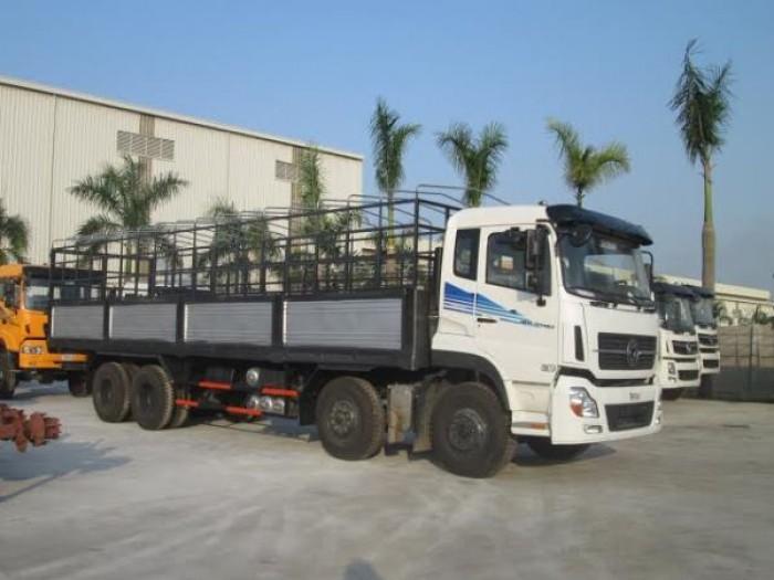 Xe tải Dongfeng 4 chân 19 tấn 1 thùng dài tải cao giá rẻ