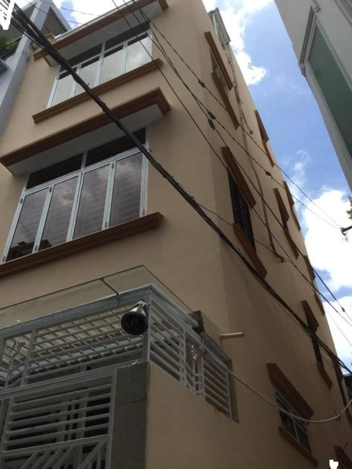 Bán nhà quận 10, Lý Thái Tổ, 43m x 4 Tấm, lô góc, hẻm rộng 4m