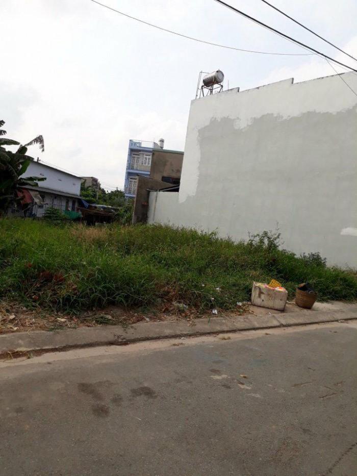 cần tiền bán gấp đất ngay Phong Phú, Bình Chánh, 5x18