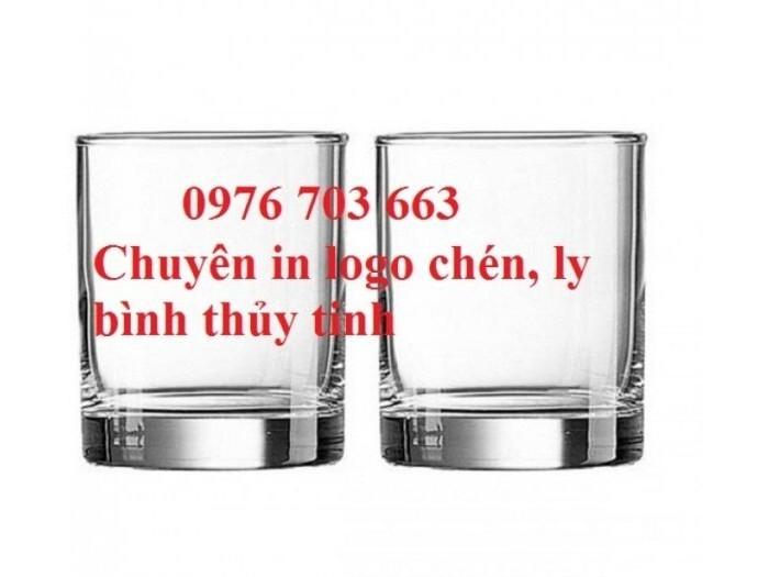 Cung cấp ly thủy tinh giá rẻ, bình thủy tinh in logo0